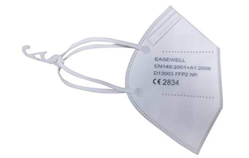 Easewell FFP2 Mundschutz Maske ohne Ventil - 10Stk/Packung