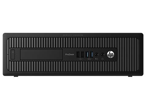HP ProDesk 600 G1 SFF - Ordenador de sobremesa (Intel Core I5-4570 3.2 GHz, 8GB de RAM, Disco SSD 240GB, Lector DVD, Windows 10 Pro) Negro (Reacondicionado)