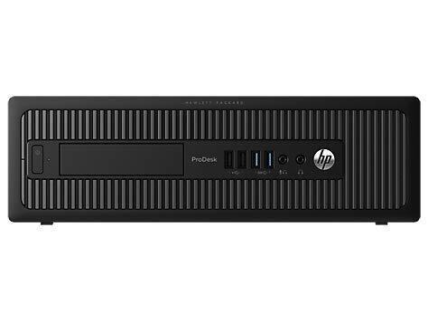 HP ProDesk 600 G1 SFF - Ordenador de sobremesa (Intel Core I5-4570 3.2 GHz, 16GB de RAM, Disco SSD 240GB, Lector DVD, Windows 10 Pro) Negro (Reacondicionado)