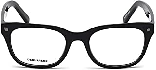 Dsquared2 DQ 5215 Col 001, Size 52-20-145 Unisex Optical Frames