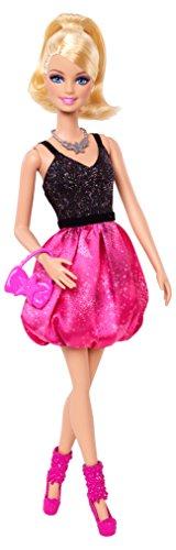 Mattel Barbie BCN97 -s Fab Life im Ballonkleid, pink/schwarz