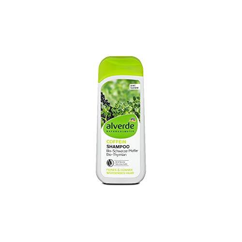 Alverde – Coffein Shampoo gegen dünnes Haar und Haarverlust – 200ml