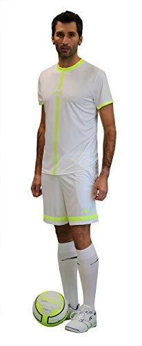 Softee Sports T-Shirt Garçon, Noir/Jaune, 12 Ans