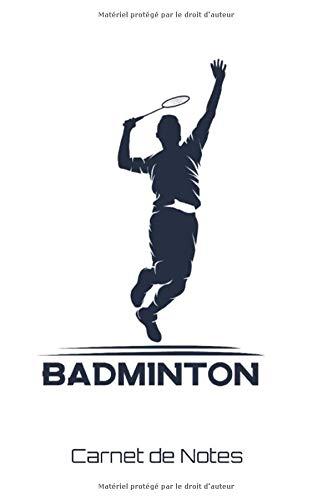 Carnet de Notes Badminton: Sports | Journal | 120 pages lignées | A5.