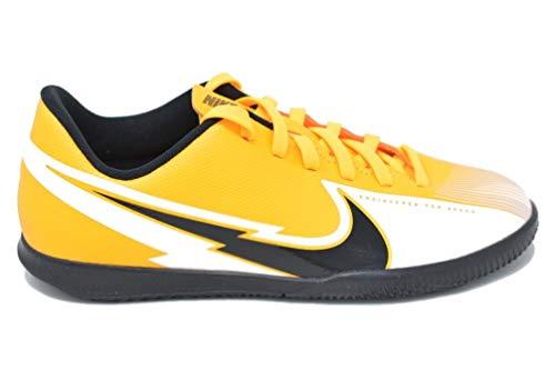 Nike Vapor 13 Club IC, Scarpe per Calcetto a Cinque Uomo, Laser Arancione, Nero e Bianco, 44.5 EU