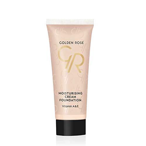 Golden Rose Fond de teint crème hydratant n°02 Ivoir beige