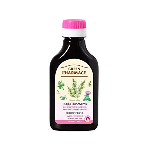 ELFA PHARM Green Pharmacy Klettenöl mit Zinnkraut - gegen Haarausfall 100 ml