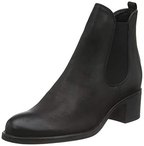 Tamaris Damen 1-1-25040-23 Chelsea Boots, Schwarz (Black Nubuc 008), 39 EU