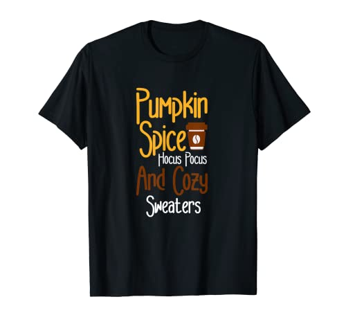Halloween Funny Pumpkin Spice Beber Amantes Camiseta