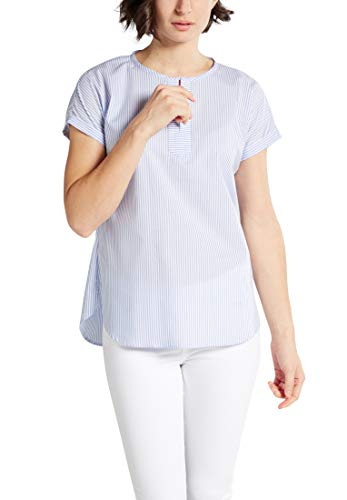 eterna blouse met korte mouwen MODERN Classic gestreept