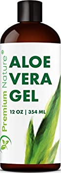 Pure Aloe Vera Gel - For Face & Dry Skin After Bug Bite Aloe Vera Gel Sunburn Relief Aloe Vera Gel for Skin Moisturizer Packaging May Vary