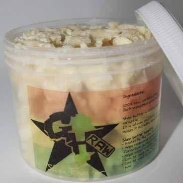 Manteca de karité cruda sin refinar GH - 250g - 100% pura manteca de karité sin refinar
