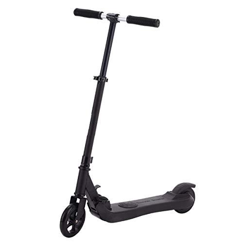 LJP Plegable Scooters Eléctricos Altura Ajustable Neumáticos De 5