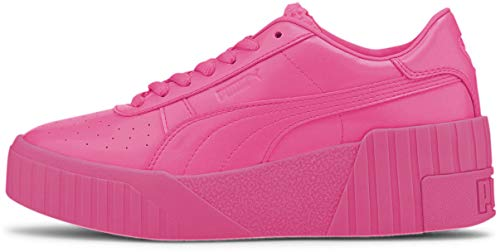 PUMA - Cali Wedge Pp Zapatos para mujer, (Rosa luminoso/Rosa metálico.), 38 EU
