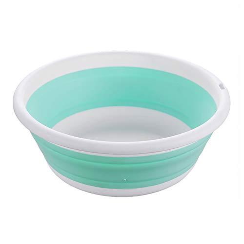 XIFOLDABLE multifunctionele inklapbare afwaskom opvouwbare draagbare ronde wastafel voor buiten kamperen wandelen tweedelig