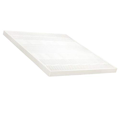 haozai Latex Mattress,Comfortable And Breathable,Anti-mite And Antibacterial,Soft And Elastic,Compressive And Durable, 7 Zones Orthopaedic Mattress