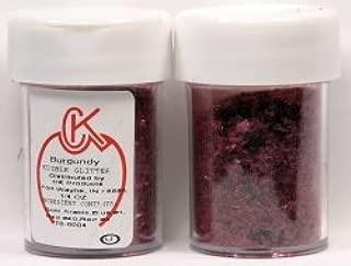 CK Products Edible Glitter - Burgundy