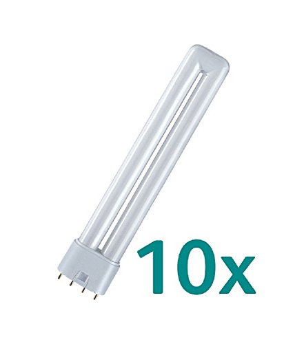 830 Warmweiß Osram Kompaktleuchtstofflampe DULUX L Lumilux Lampe 18W 2G11