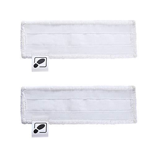 DEYF 2 Neue Mikrofaser-Bodentuch-Stoffbezüge EasyFix-Bodentücher für Kärcher-Dampfreiniger SC2, SC 3, SC4, SC5-Bodendüse 5€/Stück