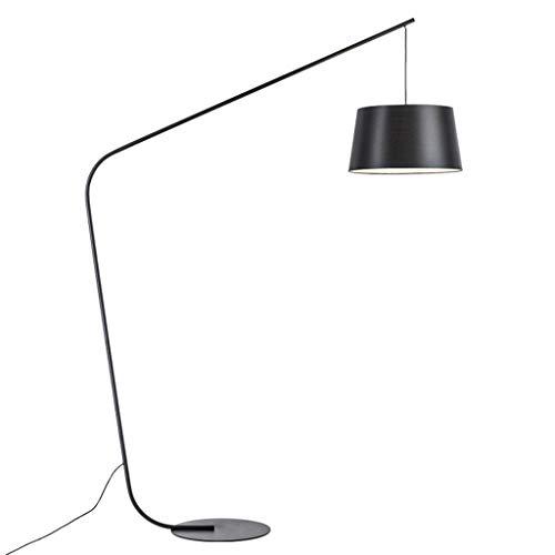 FYounLight Nordic lamp zwart perzik vloerlicht eenvoudig creatief model slaapkamer vloerlamp voor woonkamer sofa slaapkamer vloerlamp