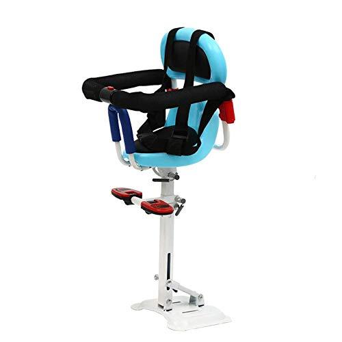 wangt fietsstoel voor kinderen voorstoel voor fiets kinderfietsstoel met armleuning rugleuning en pedaal verstelbare richting