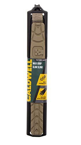 Caldwell Max Grip Slim Sling FDE - Adjustable Rifle Slings for Shooting, Hunting and Range