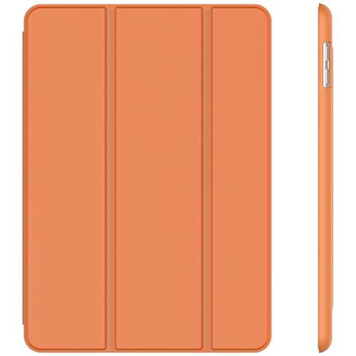 JETech Hülle Kompatibel iPad (9,7 Zoll, Modell 2018/2017, 6. / 5. Generation), Intelligent Schutzhülle mit Auto Schlafen/Wachen, Papaya