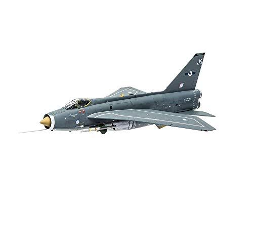 GLXLSBZ Kits de modelos de rompecabezas de combate, escala 1/72 Inglés eléctrico BAC Lightning F1A modelo de plástico de combate, 12.7 pulgadas x 7 pulgadas