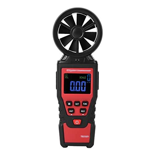 Yousiju Stroboscope Handheld Anemómetro digital Medidor de temperatura de temperatura del viento Tester Speed...