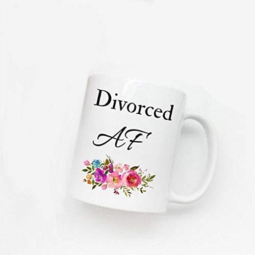 Divorciado AF | Regalo Divorciado | Finalmente Gratis | Recién Divorciado | Dama Gratis | Taza Divorciada | Divertido Regalo Divorciado | Libertad