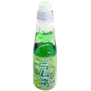 Ramune Japanische Limonade / Erfrischungsgetränk: Melonen Geschmack 200 ml