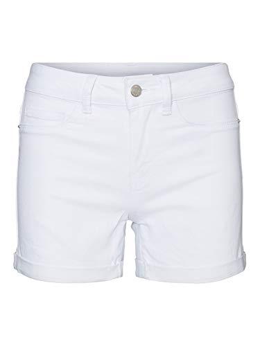 VERO MODA dames Vmhot Seven Nw DNM Fold Color Jeans-shorts