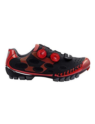 Zapatillas Mtb Catlike Whisper Negro-Rojo - Talla: 43