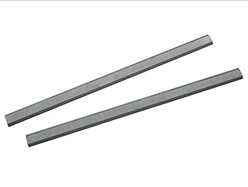Wnuanjun 2pcs 319mm CHOQUES DE CLUCHO para HAFCHO T-318 Espesor W800 Cuchillo de cepillador de Madera para carpintería 12-1/2 Pulgadas