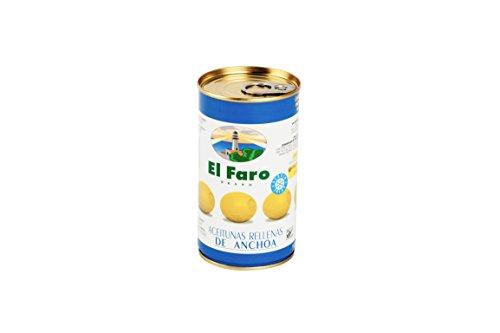 El Faro Oliven gefüllt m. Sardellen 150g