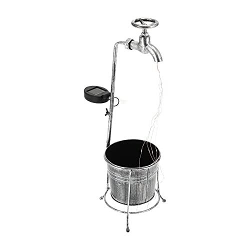 Eulbevoli Estatua de luz de Grifo, diseño de Forma de Maceta de Grifo de lámpara de césped para Patios de césped, Cuadrados para aceras, Campus, Granjas, Pared Exterior