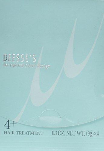 Milbon Deesee's Hair Treatment 4+ for medium hair (4 x 0.3 oz) by Milbon