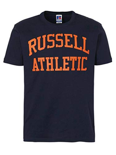 Russell Athletic Crew Neck Tee 290 Navy A90021F-290, XXL