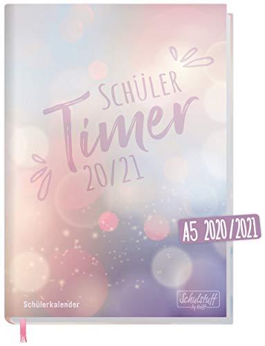 Schulstuff Schülertimer 2020/2021 A5 [Bubbles] Schülerkalender, Schüler-Tagebuch, Schülerplaner - Organisiert durchs neue Schuljahr | nachhaltig & klimaneutral