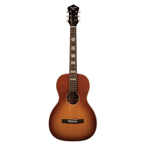 Recording King 6 String RPS-7-TS Dirty 30's Series 7 Single 0 Acoustic Guitar, Tobacco Sunburst