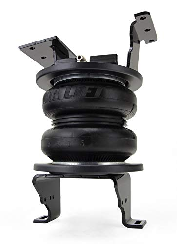 Air Lift 57538 LoadLifter 7500XL Air Springs for 2011-2019 GM 3/4 and 1 ton pickups, Nylon Air Line, Up to 7,500 lbs
