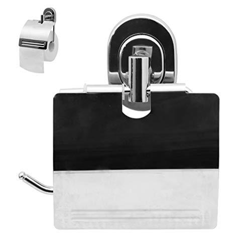 Portarrollos de baño, portarrollos para papel higiénico, soporte para papel higiénico, dispensador para papel higiénico antióxido, rueda de papel de embalaje escondida