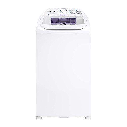 Máquina de Lavar 8,5kg Electrolux Branca Turbo Economia, Jet&Clean e Filtro Fiapos (LAC09) 127V