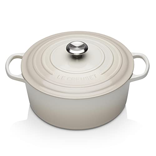 Le Creuset Enameled Cast Iron Signature Round Dutch Oven, 7.25 qt.,...