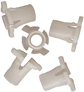 H HILABEE 20x Aluminium M6 Schraubensatz Schutzblech Bolzen Muttern Verkleidungsschrauben Scheinwerfer Schrauben Blau