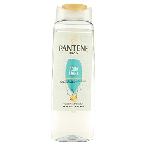 Pantene Pro-V Shampoo Aqua Light, Capelli Fini Appesantiti, 250ml