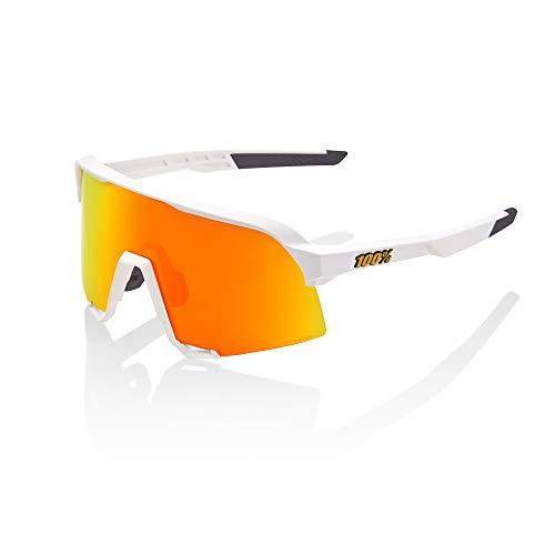 100% MTB S3 - Occhiali da sole sportivi, colore: Bianco