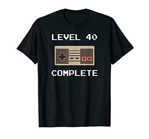 40 Jahre Geburtstag Männer Geschenk Gamer Runder Geburtstag T-Shirt
