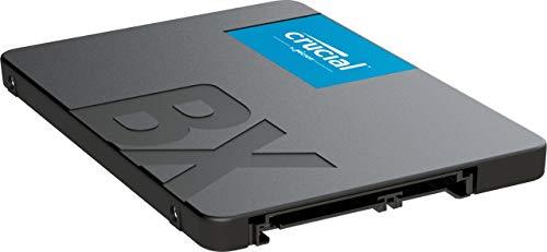 Crucial BX500 CT240BX500SSD1 Disco Duro Sólido Interno SSD de 240 GB (3D NAND, SATA, 2.5 pulgadas)