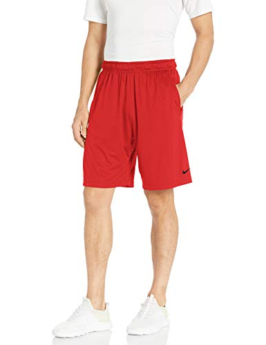 Nike Men's Dry Training Shorts, University Red/University Red/Black, Medium